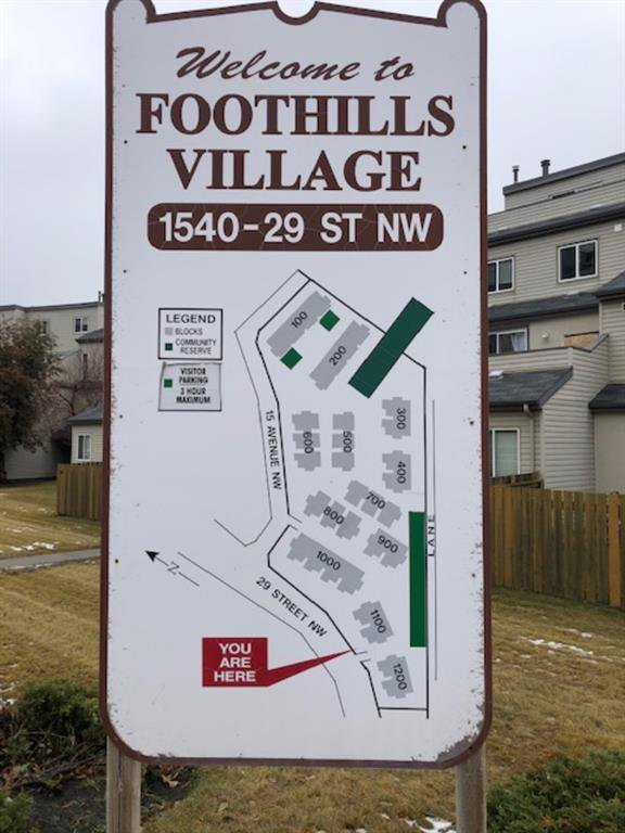 Main Photo: 1201 1540 29 Street NW in Calgary: St Andrews Heights Apartment for sale : MLS®# A1045458
