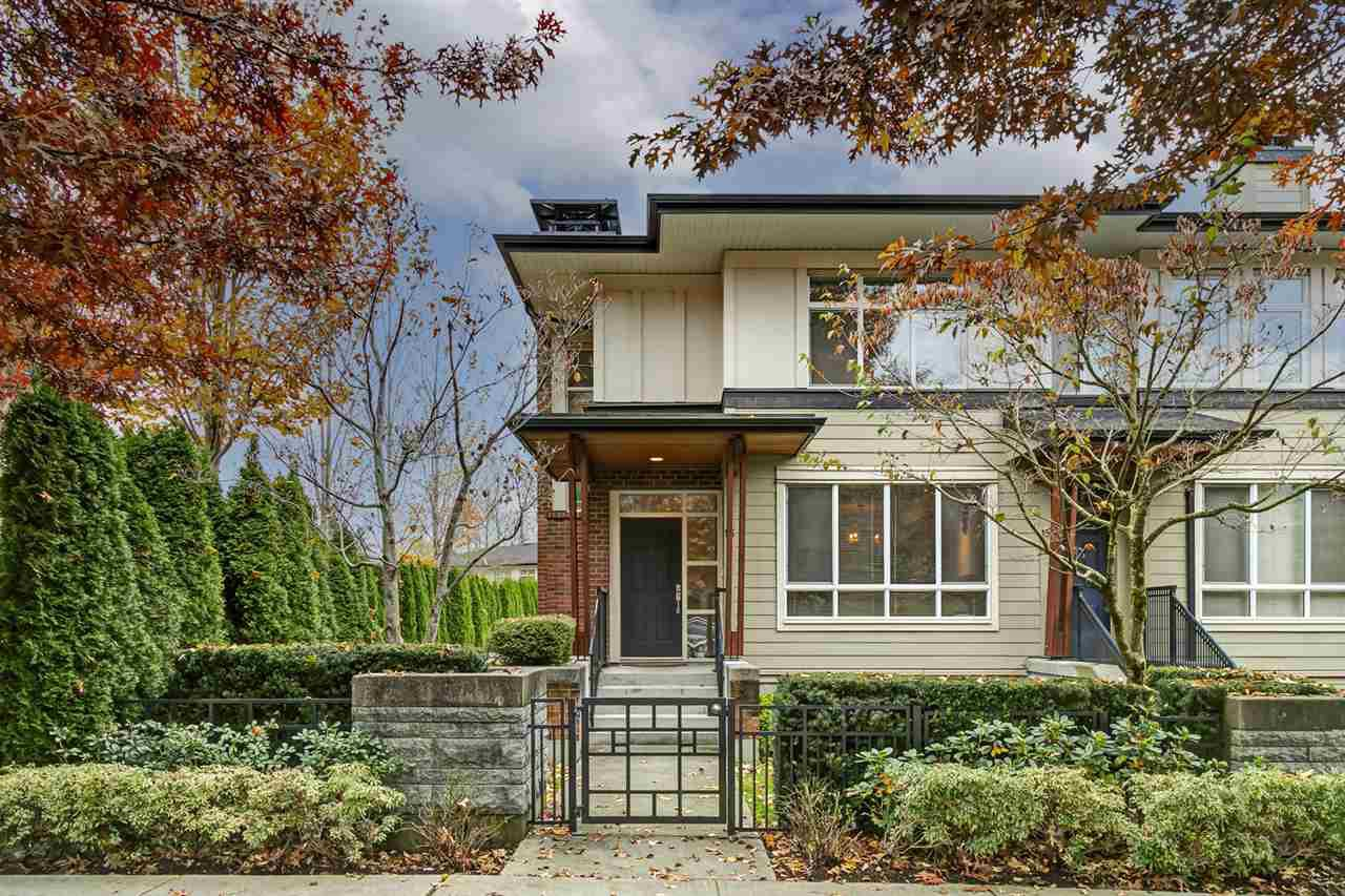 """Main Photo: 16 1125 KENSAL Place in Coquitlam: New Horizons Townhouse for sale in """"Kensal Walk by Polygon"""" : MLS®# R2517035"""