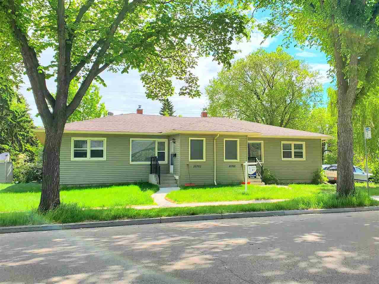Main Photo: 10701 - 10703 135 Street in Edmonton: Zone 07 House Duplex for sale : MLS®# E4190600