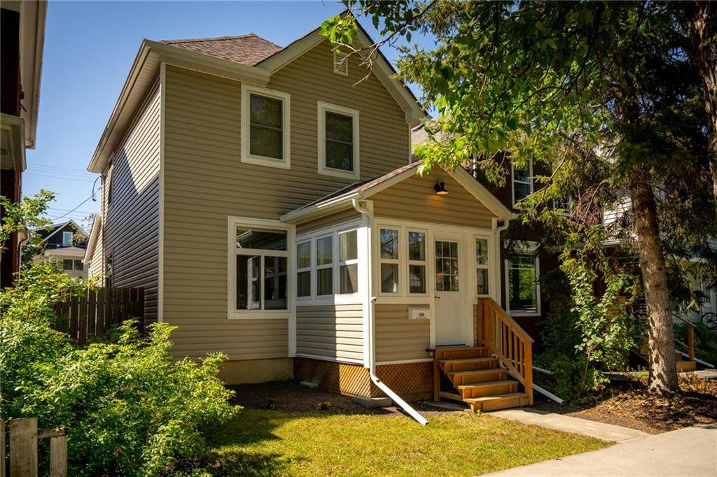 Beautifully upgraded- siding, shingles, front step all add to the charming curb appeal.