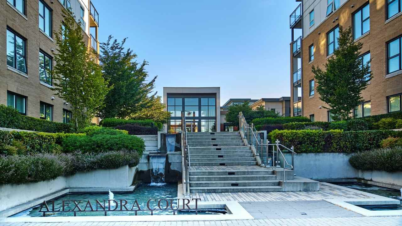 "Main Photo: 521 9366 TOMICKI Avenue in Richmond: West Cambie Condo for sale in ""ALEXANDRA COURT/CARLTON"" : MLS®# R2492400"