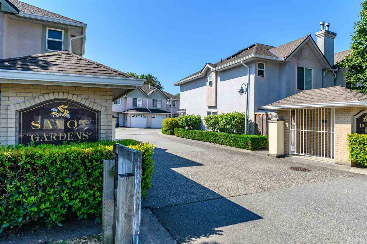 Main Photo: 7 10080 KILBY DRIVE in Richmond: West Cambie Townhouse for sale : MLS®# R2393912