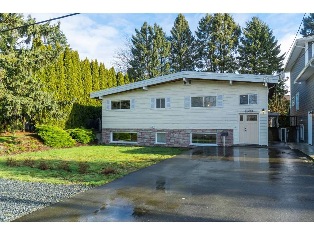 Main Photo: 6300 EDSON Drive in Sardis: Sardis West Vedder Rd House for sale : MLS®# R2435111