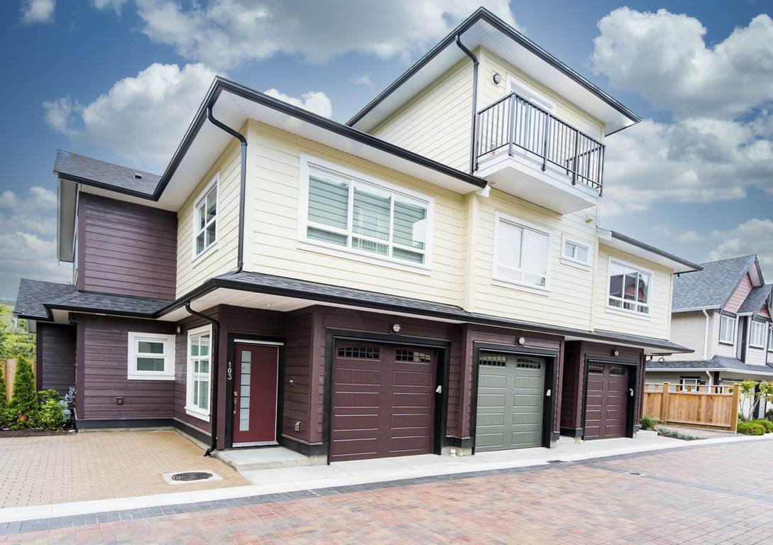 """Main Photo: 103 6571 NO. 4 Road in Richmond: Garden City Townhouse for sale in """"QURESHA GARDENS"""" : MLS®# R2509526"""