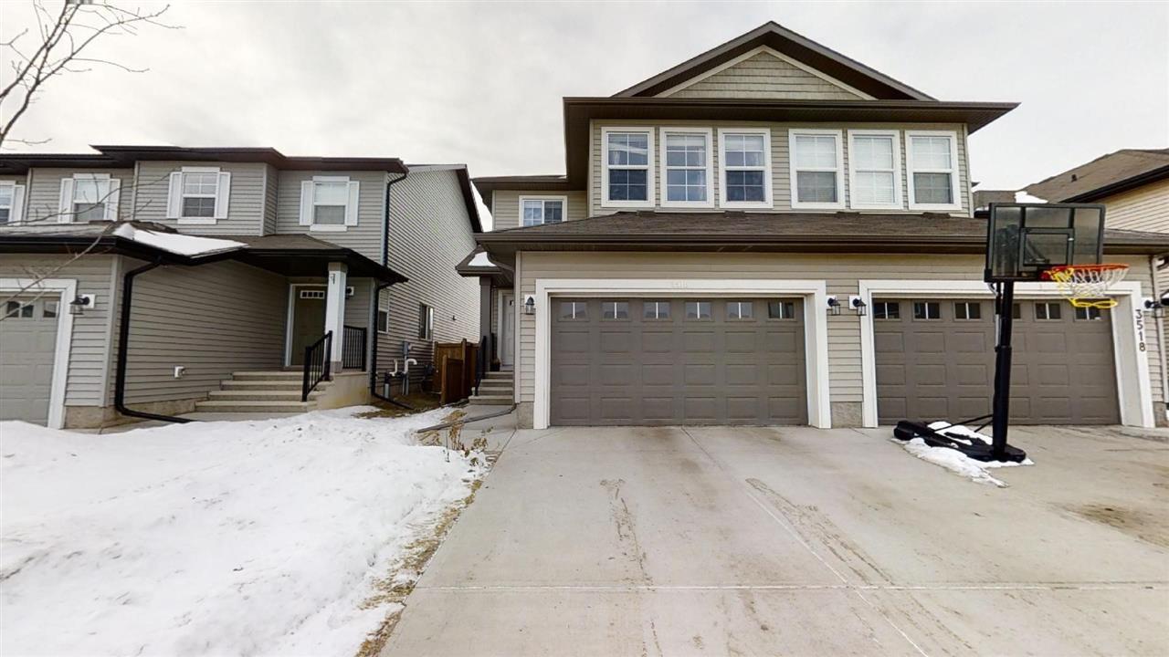 Main Photo: 3516 9 Street in Edmonton: Zone 30 House Half Duplex for sale : MLS®# E4225059