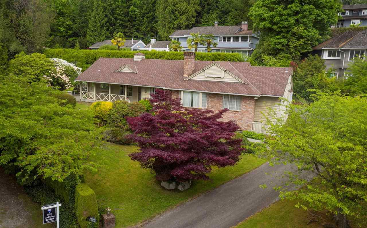 Main Photo: 1440 30TH Street in West Vancouver: Altamont House for sale : MLS®# R2454153
