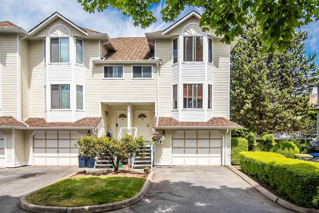 "Main Photo: 11 8220 121A Street in Surrey: Queen Mary Park Surrey Townhouse for sale in ""Barkerville 1"" : MLS®# R2410290"
