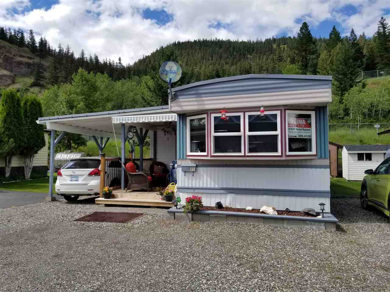 """Main Photo: 71 1700 S BROADWAY Avenue in Williams Lake: Williams Lake - City Manufactured Home for sale in """"NORTHSIDE VILLAGE"""" (Williams Lake (Zone 27))  : MLS®# R2471520"""