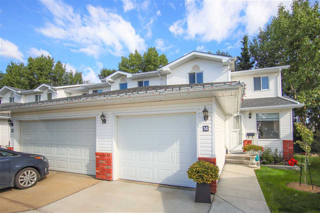 Main Photo: 14 10 RITCHIE Way: Sherwood Park Townhouse for sale : MLS®# E4212172