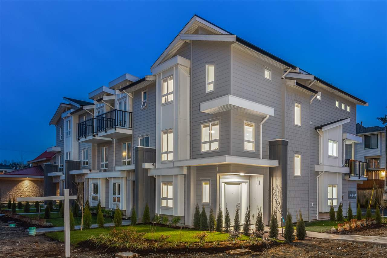 "Main Photo: 3 1538 DORSET Avenue in Port Coquitlam: Birchland Manor Condo for sale in ""DORSET ROW"" : MLS®# R2496920"