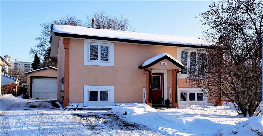 Main Photo: 42 Maralbo Avenue East in Winnipeg: St Vital Residential for sale (2D)  : MLS®# 202002953