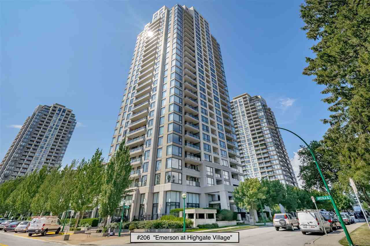 "Main Photo: 206 7063 HALL Avenue in Burnaby: Highgate Condo for sale in ""EMERSON at Highgate Village"" (Burnaby South)  : MLS®# R2389520"