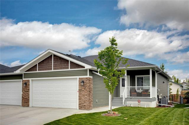 Main Photo: 810 Stone Garden Drive: Carstairs Semi Detached for sale : MLS®# C4302973