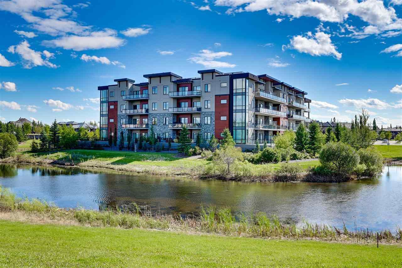 Main Photo: 204 4042 MACTAGGART Drive in Edmonton: Zone 14 Condo for sale : MLS®# E4211106