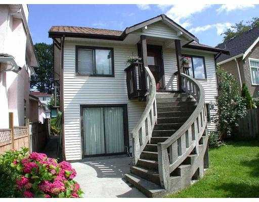 Main Photo: 3593 E GEORGIA ST in Vancouver: Renfrew VE House for sale (Vancouver East)  : MLS®# V546518