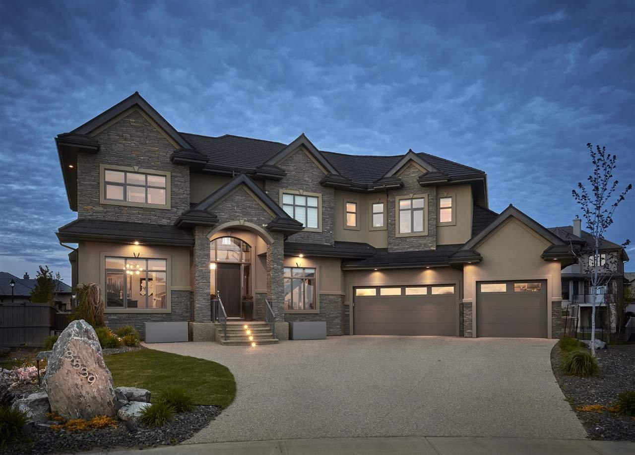 Main Photo: 3539 WATSON Point in Edmonton: Zone 56 House for sale : MLS®# E4172989