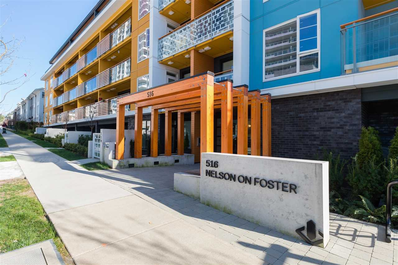 "Main Photo: 318 516 FOSTER Avenue in Coquitlam: Coquitlam West Condo for sale in ""NELSON ON FOSTER"" : MLS®# R2450755"