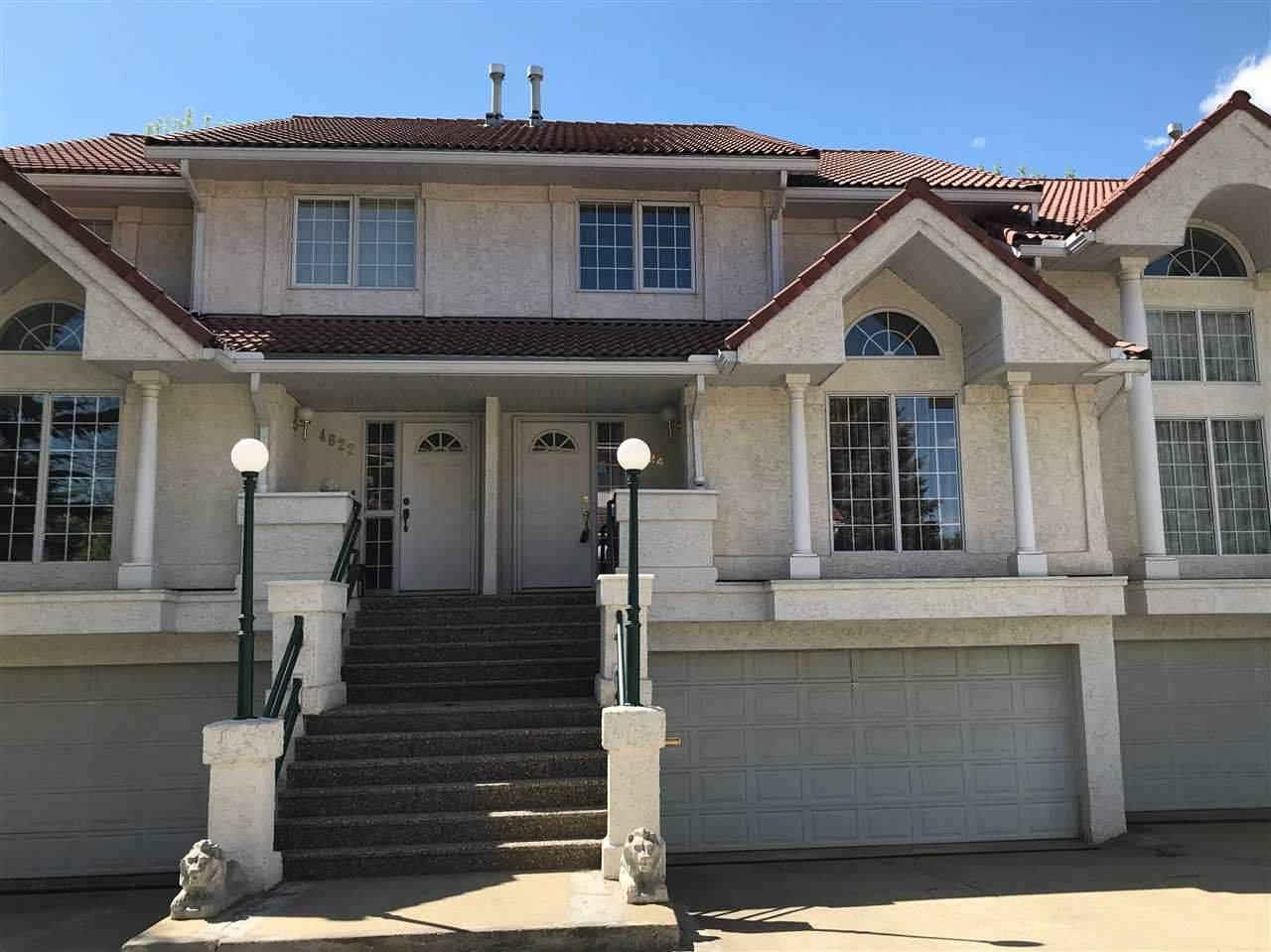Main Photo: 4624 151 Street in Edmonton: Zone 14 Townhouse for sale : MLS®# E4211665