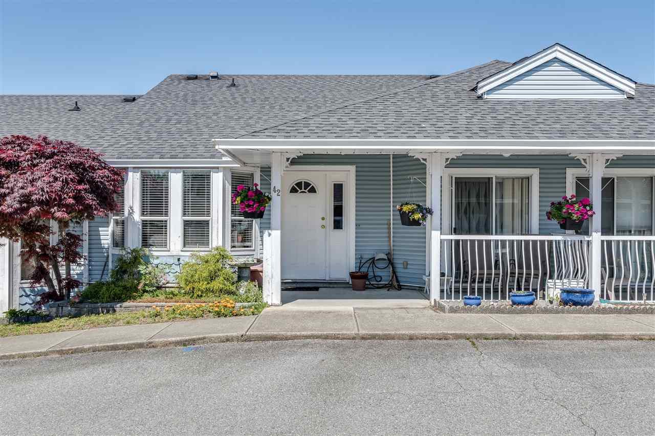 "Main Photo: 42 20554 118 Avenue in Maple Ridge: Southwest Maple Ridge Townhouse for sale in ""COLONIA WEST"" : MLS®# R2455120"