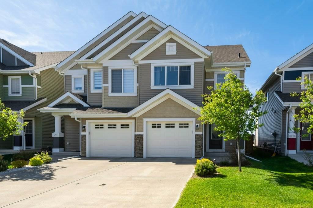 Main Photo: 6723 24 Avenue in Edmonton: Zone 53 House Half Duplex for sale : MLS®# E4200536