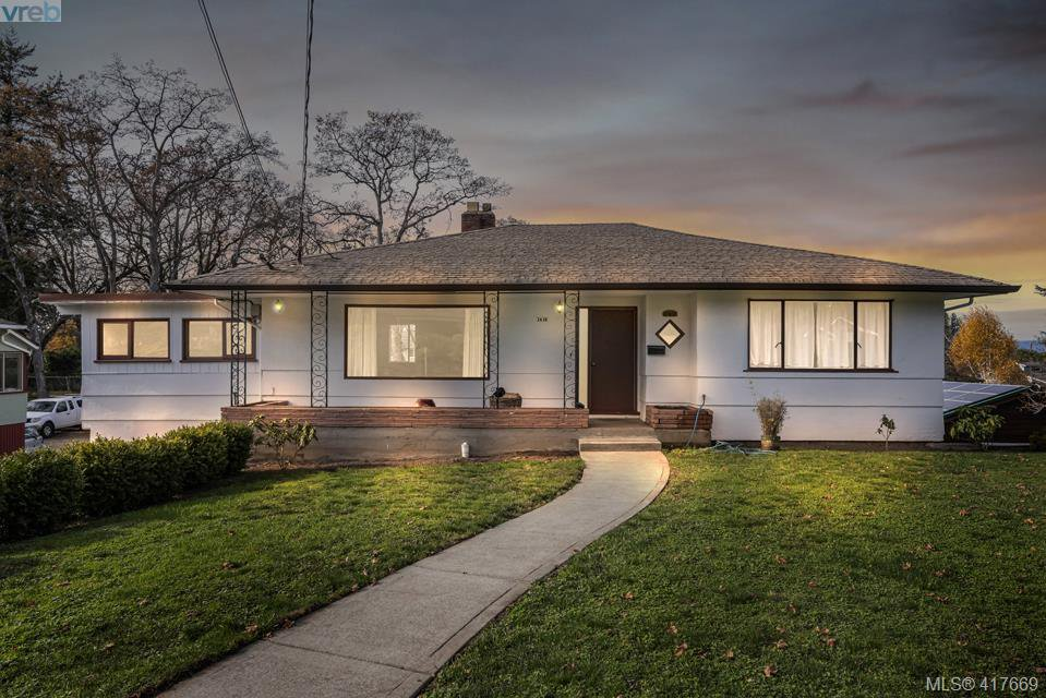 Main Photo: 3630 Kathleen Street in VICTORIA: SE Maplewood Single Family Detached for sale (Saanich East)  : MLS®# 417669