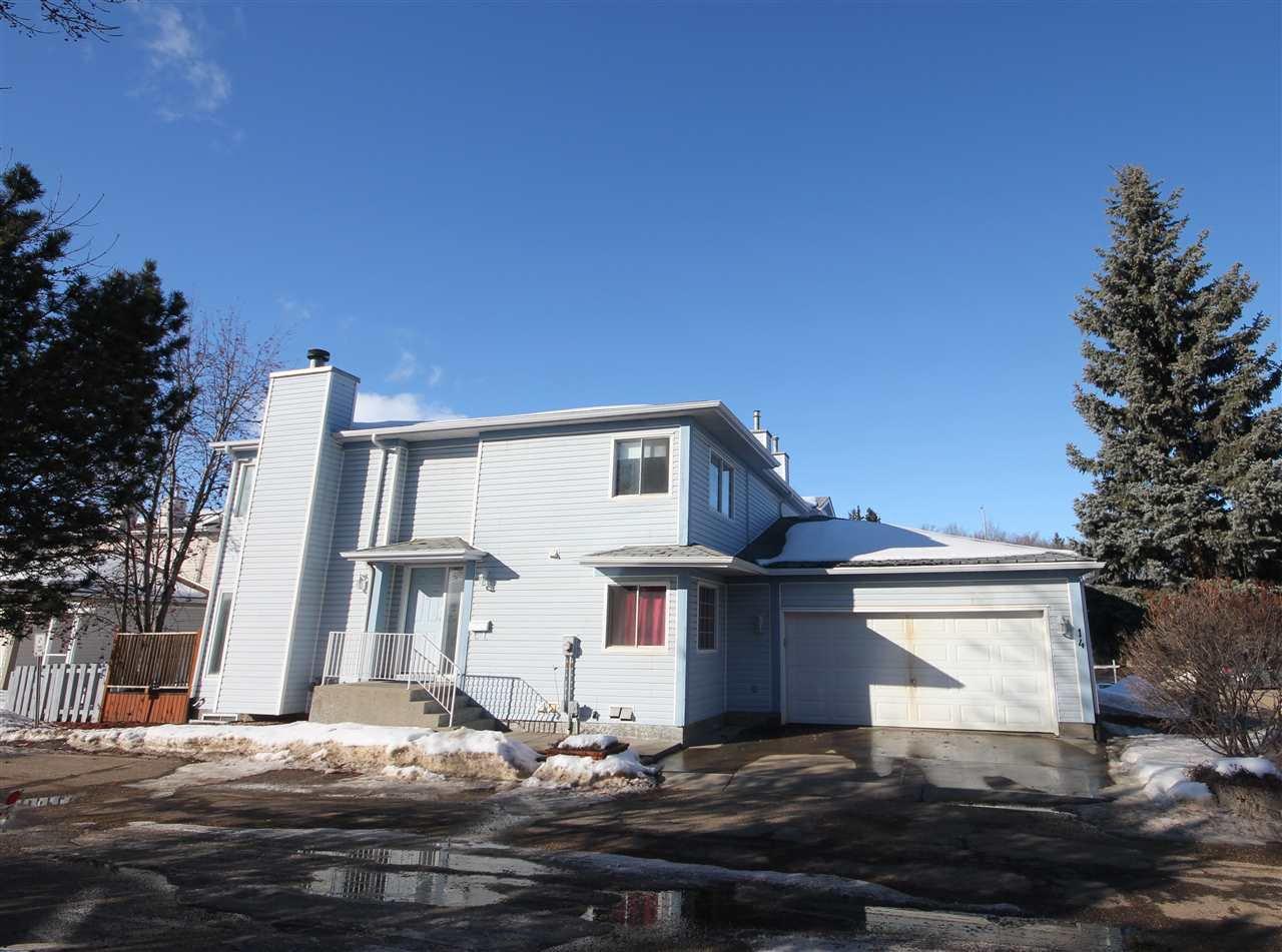 Main Photo: 14 35 GRANDIN Road: St. Albert Townhouse for sale : MLS®# E4189557