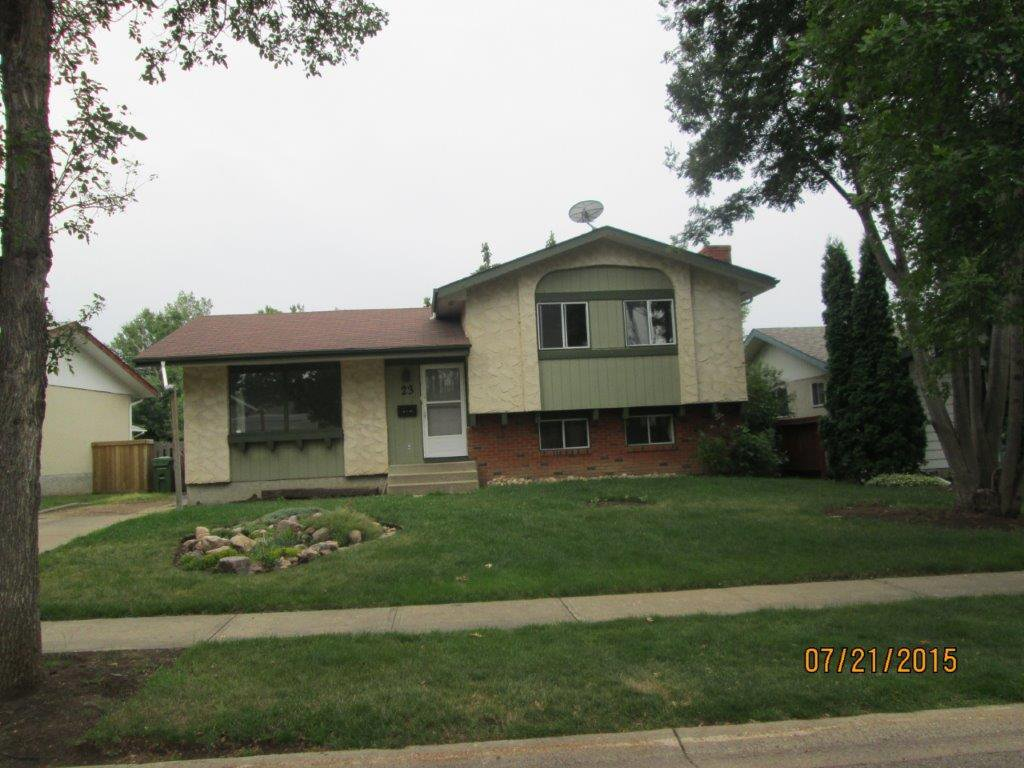 Main Photo: 23 Longview Crescent in St. Albert: House for rent