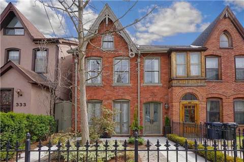 Main Photo: 331 Wellesley St, Toronto, Ontario M4X1H2 in Toronto: Semi-Detached for sale (Cabbagetown-South St. James Town)  : MLS®# C3184031