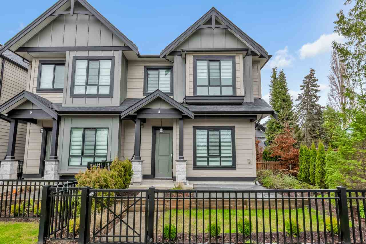 Main Photo: 4 7388 RAILWAY AVENUE in Richmond: Granville Townhouse for sale : MLS®# R2425302