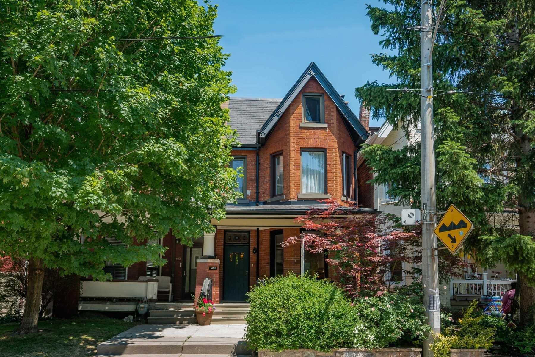 Main Photo: 401 Shaw Street in Toronto: Trinity-Bellwoods House (3-Storey) for sale (Toronto C01)  : MLS®# C4804197