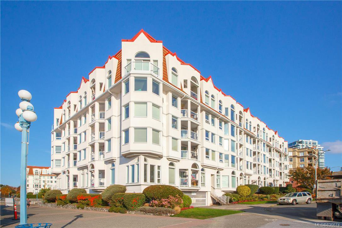 Main Photo: 113 10 Paul Kane Pl in Victoria: VW Songhees Condo Apartment for sale (Victoria West)  : MLS®# 836674