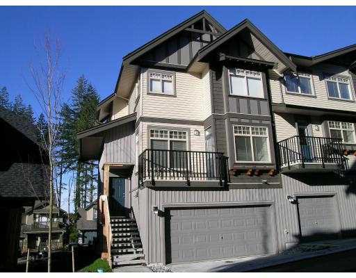"Main Photo: 55 HAWTHORNE Drive in Port Moody: Heritage Woods PM Townhouse for sale in ""COBALT SKY"" : MLS®# V627680"