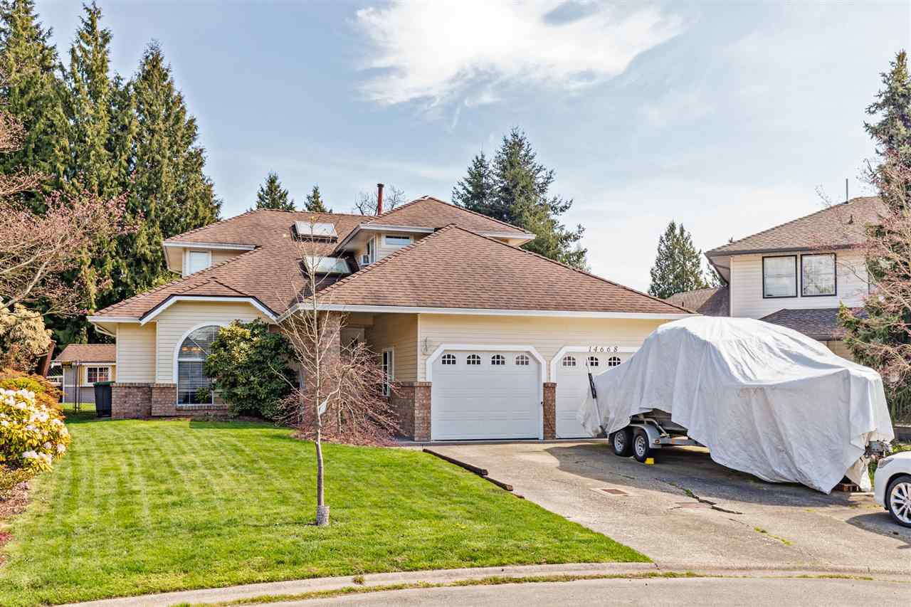Main Photo: 14668 84A Avenue in Surrey: Bear Creek Green Timbers House for sale : MLS®# R2451433