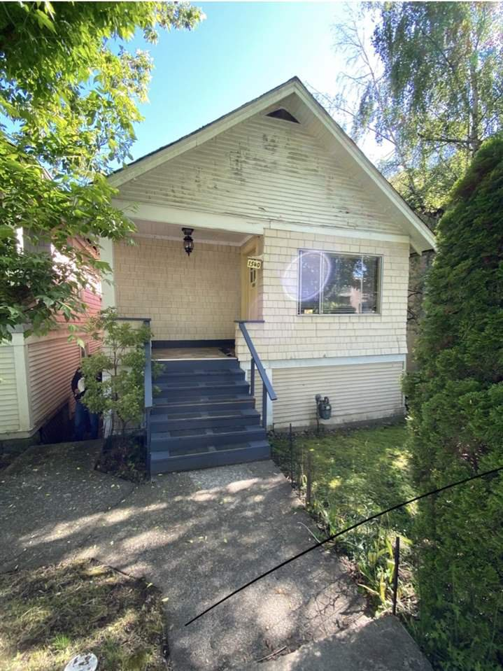 Main Photo: 1540 E 3RD Avenue in Vancouver: Grandview Woodland House for sale (Vancouver East)  : MLS®# R2461075