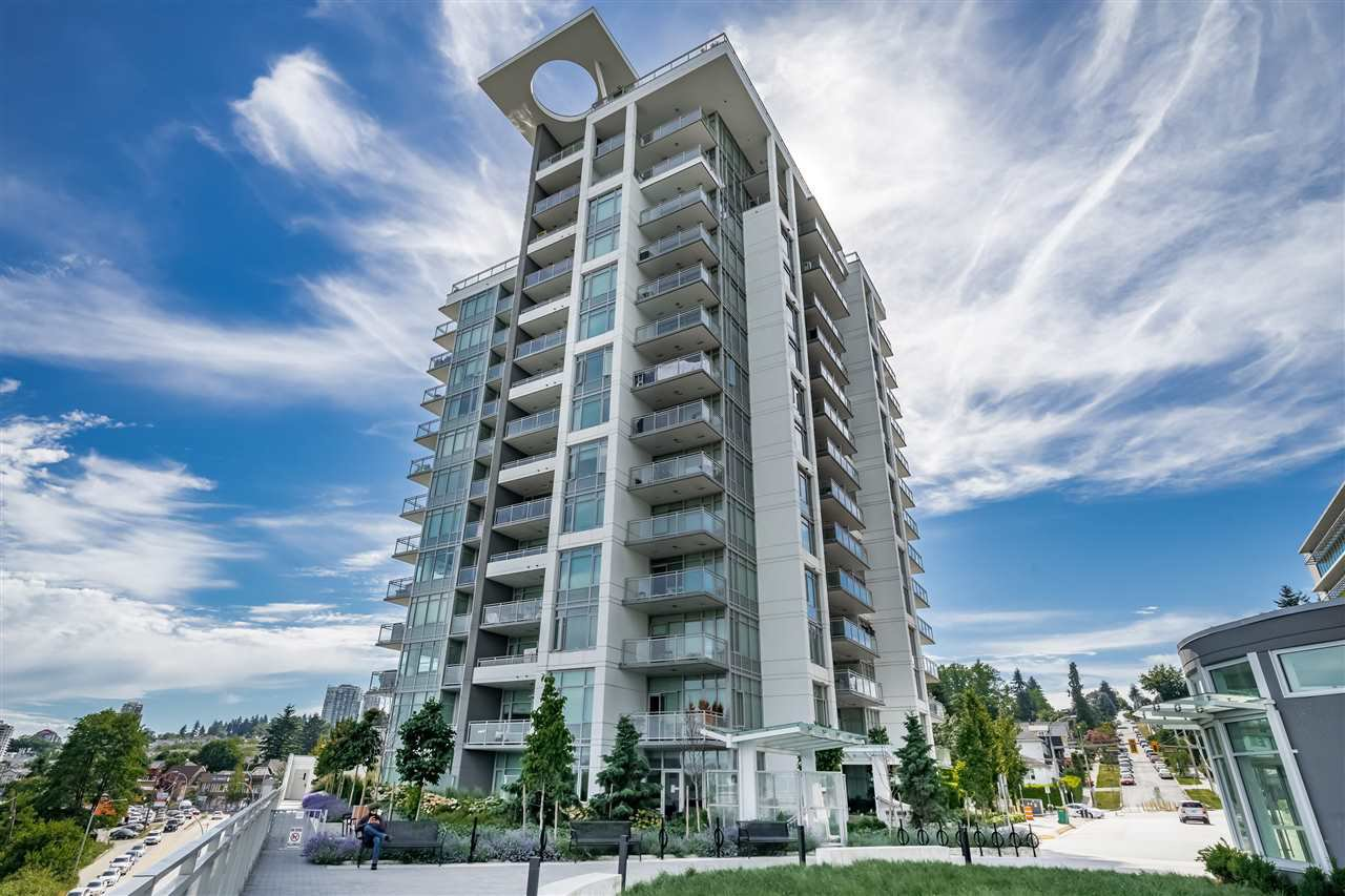 """Main Photo: 802 200 NELSON'S Crescent in New Westminster: Sapperton Condo for sale in """"The Sapperton ( Brewery District)"""" : MLS®# R2402399"""