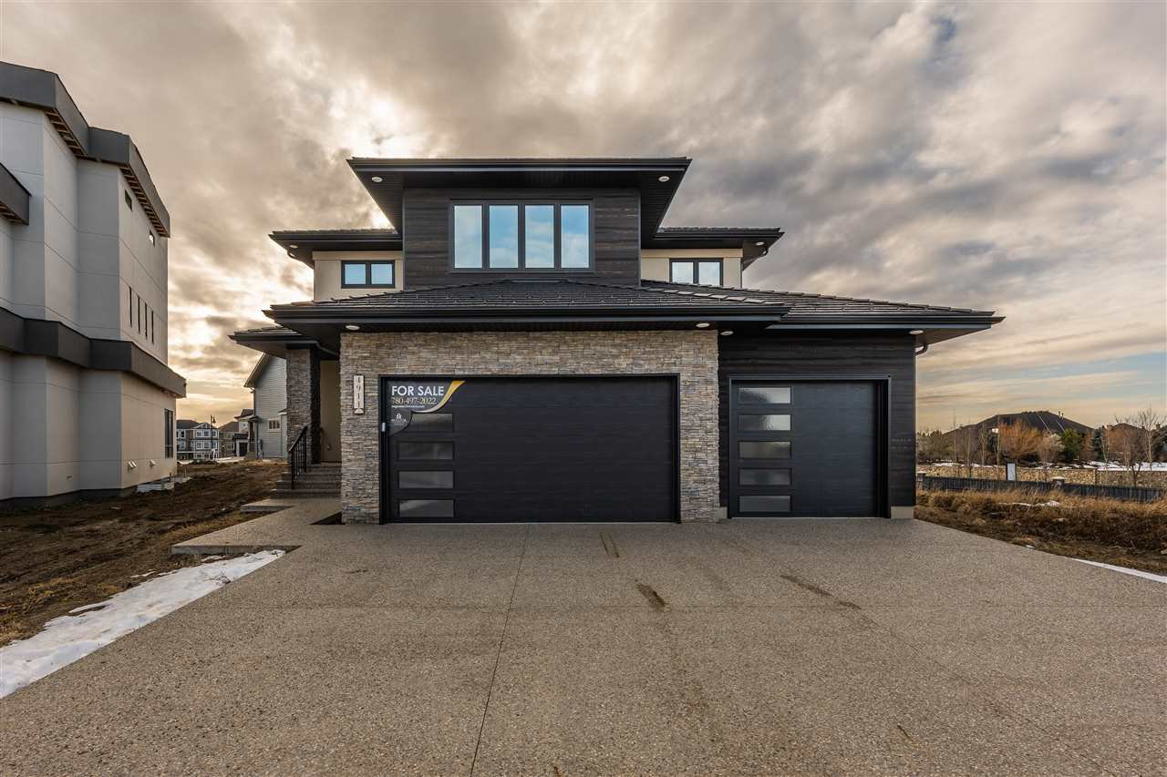 Main Photo: 4911 Woolsey Court in Edmonton: Zone 56 House for sale : MLS®# E4183970