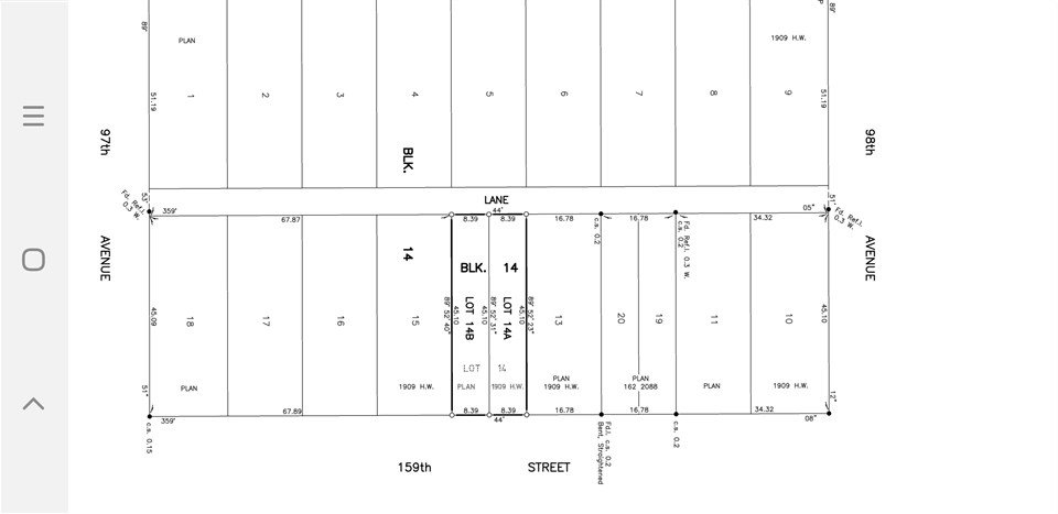 Main Photo: 9718 159 street in Edmonton: Zone 22 Vacant Lot for sale : MLS®# E4199585