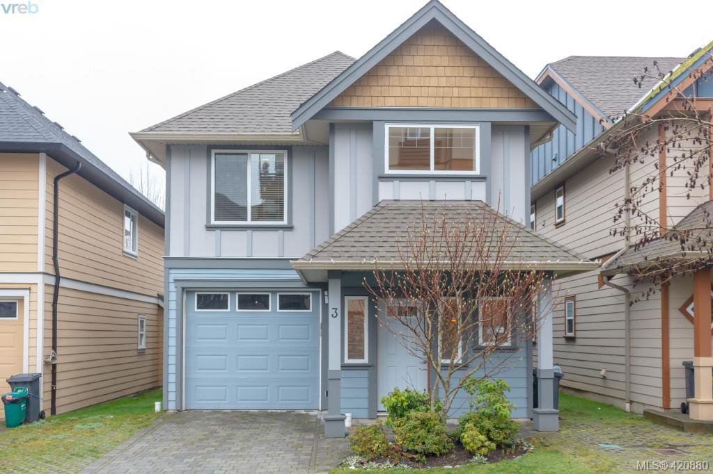 Main Photo: 3 2216 Sooke Road in VICTORIA: Co Hatley Park Row/Townhouse for sale (Colwood)  : MLS®# 420880