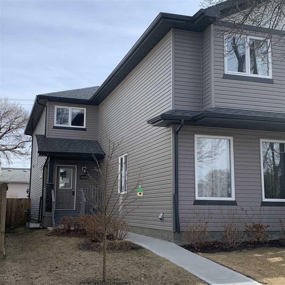 Main Photo: 14835 103 Avenue in Edmonton: Zone 21 House Half Duplex for sale : MLS®# E4197992