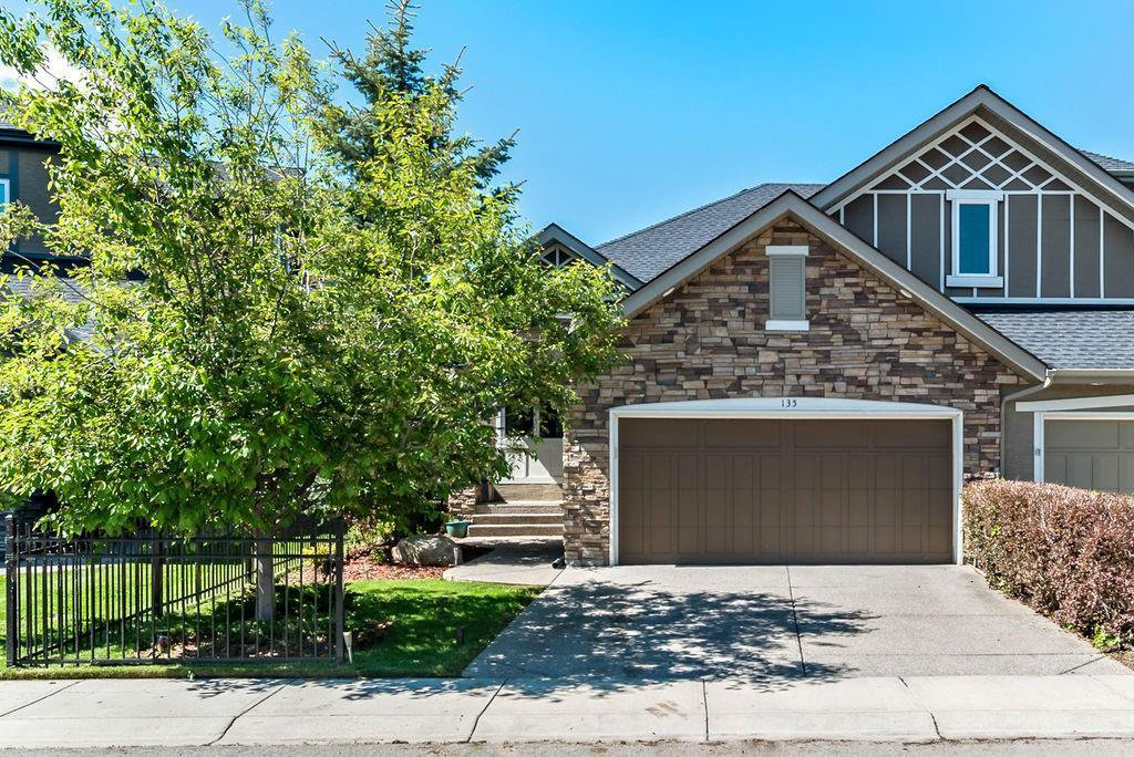 Main Photo: 135 CRANLEIGH Way SE in Calgary: Cranston Semi Detached for sale : MLS®# C4300687