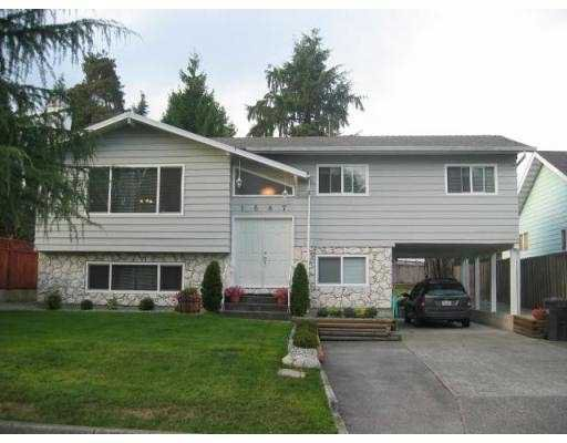 """Main Photo: 1687 WINDERMERE PL in Port Coquiltam: Oxford Heights House for sale in """"OXFORD HEIGHTS"""" (Port Coquitlam)  : MLS®# V557805"""