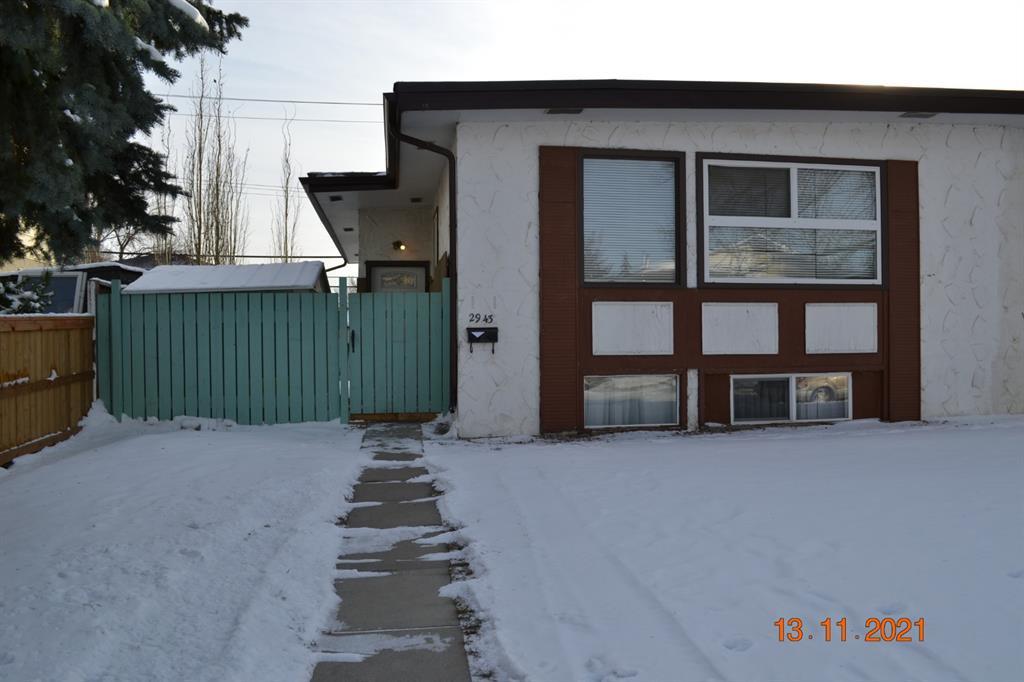 Main Photo: 2943 DOVERVILLE Crescent SE in Calgary: Dover Semi Detached for sale : MLS®# A1049122