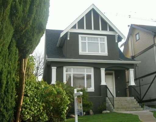 Main Photo: 3586 W 17TH Ave in Vancouver: Dunbar House for sale (Vancouver West)  : MLS®# V593863