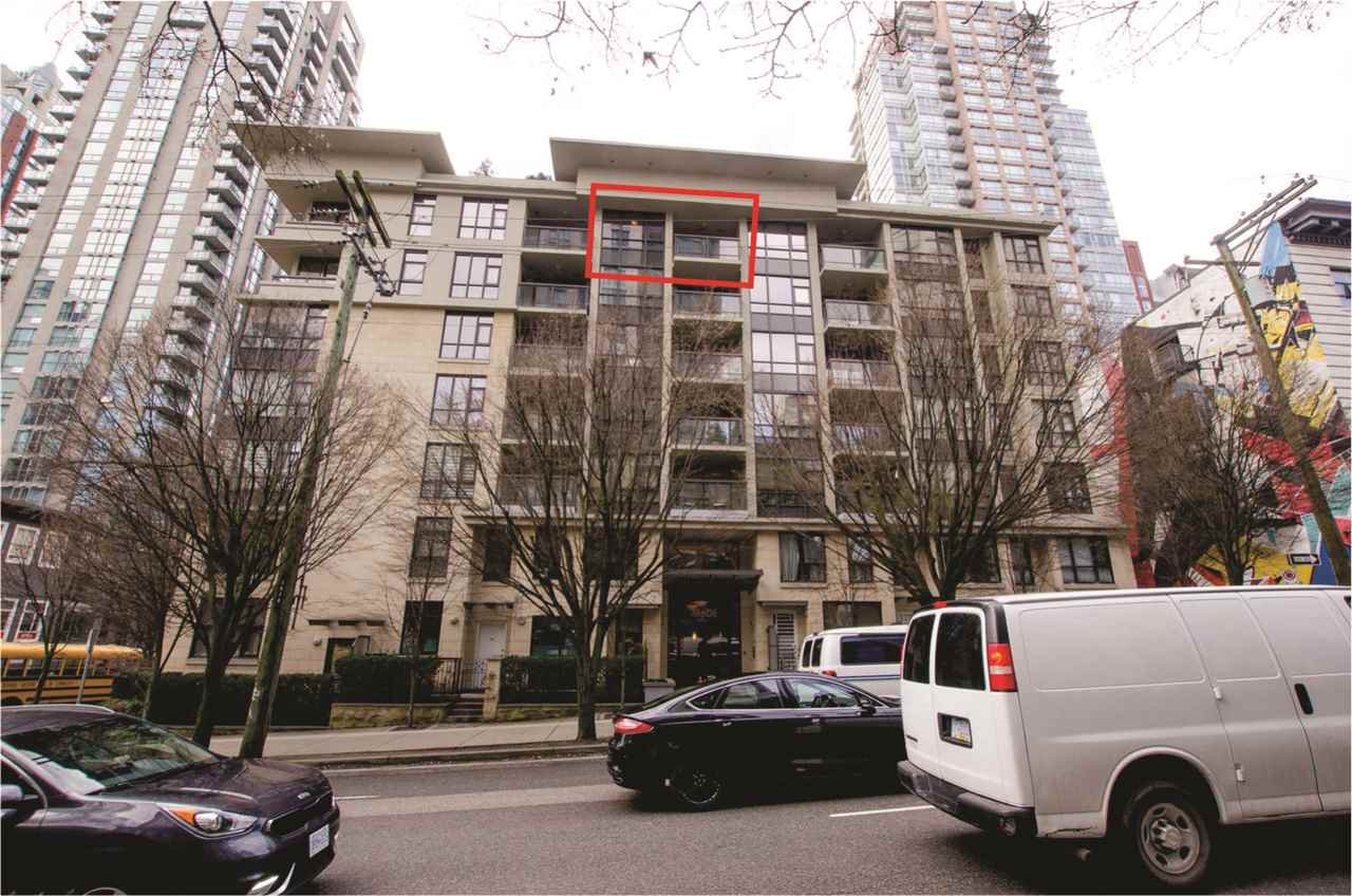 Main Photo: 704 538 SMITHE STREET in Vancouver: Downtown VW Condo for sale (Vancouver West)  : MLS®# R2378425
