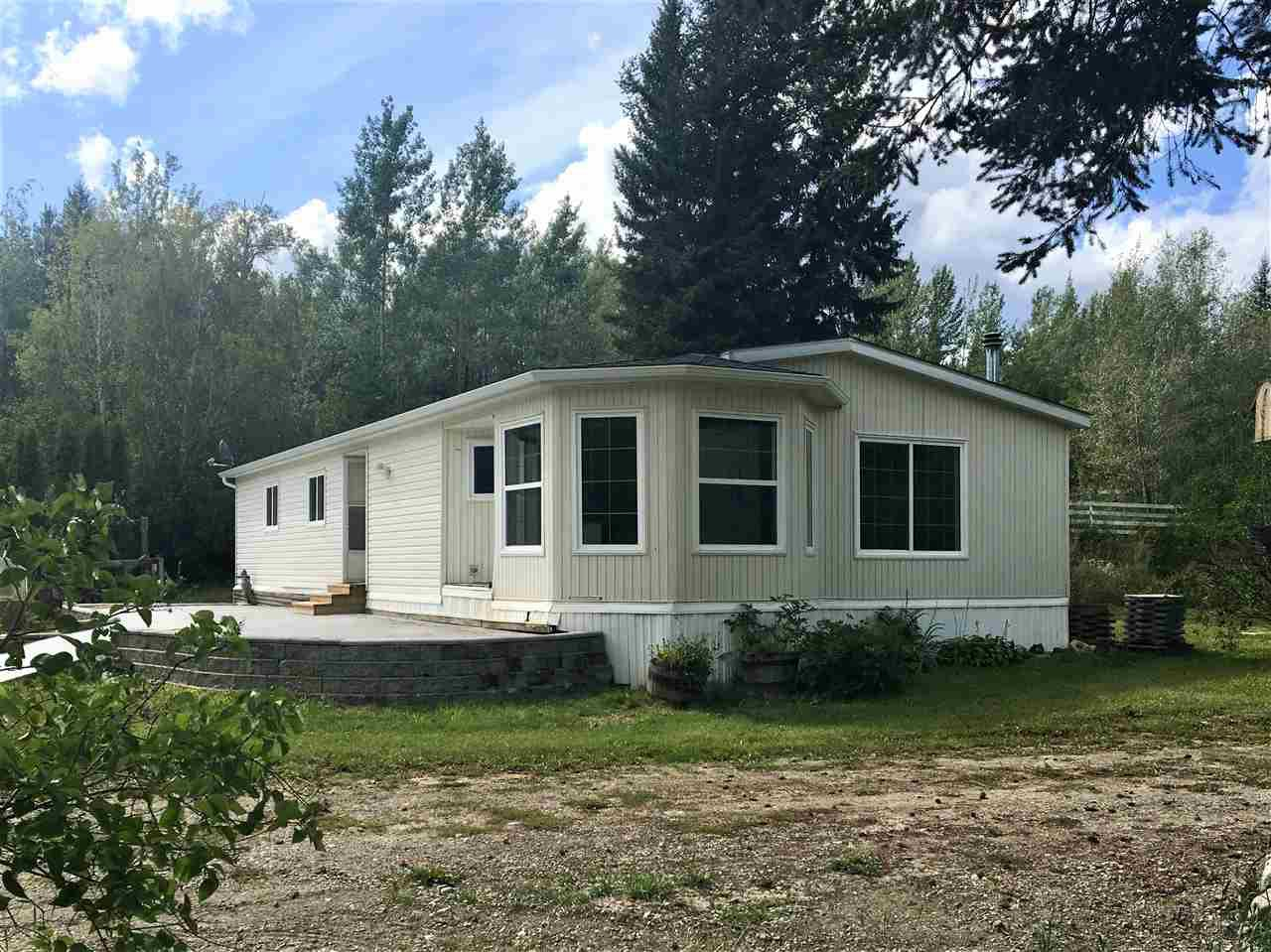 Photo 1: Photos: 2404 N VERNON Road in Quesnel: Bouchie Lake Manufactured Home for sale (Quesnel (Zone 28))  : MLS®# R2492081