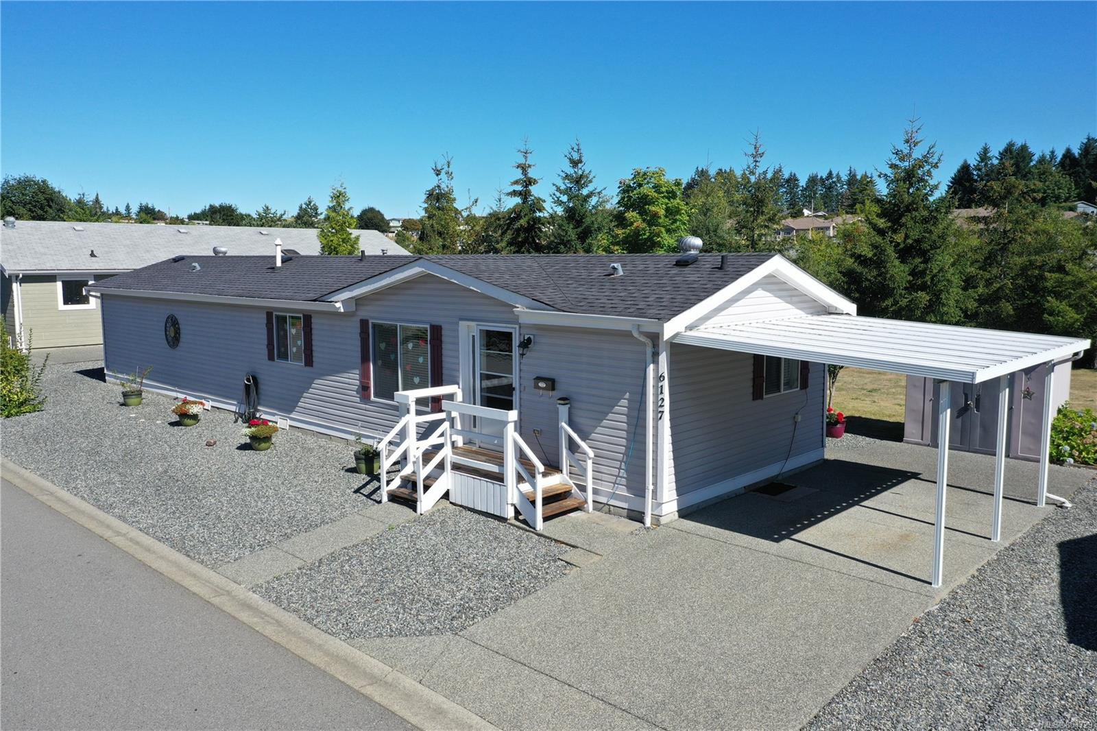 Main Photo: 86 6127 Denver Way in : Na Pleasant Valley Manufactured Home for sale (Nanaimo)  : MLS®# 854729
