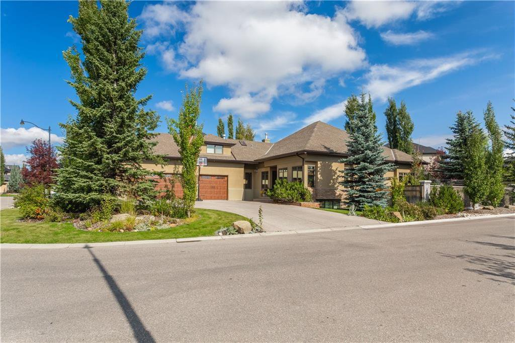 Beautifully situated on a corner lot
