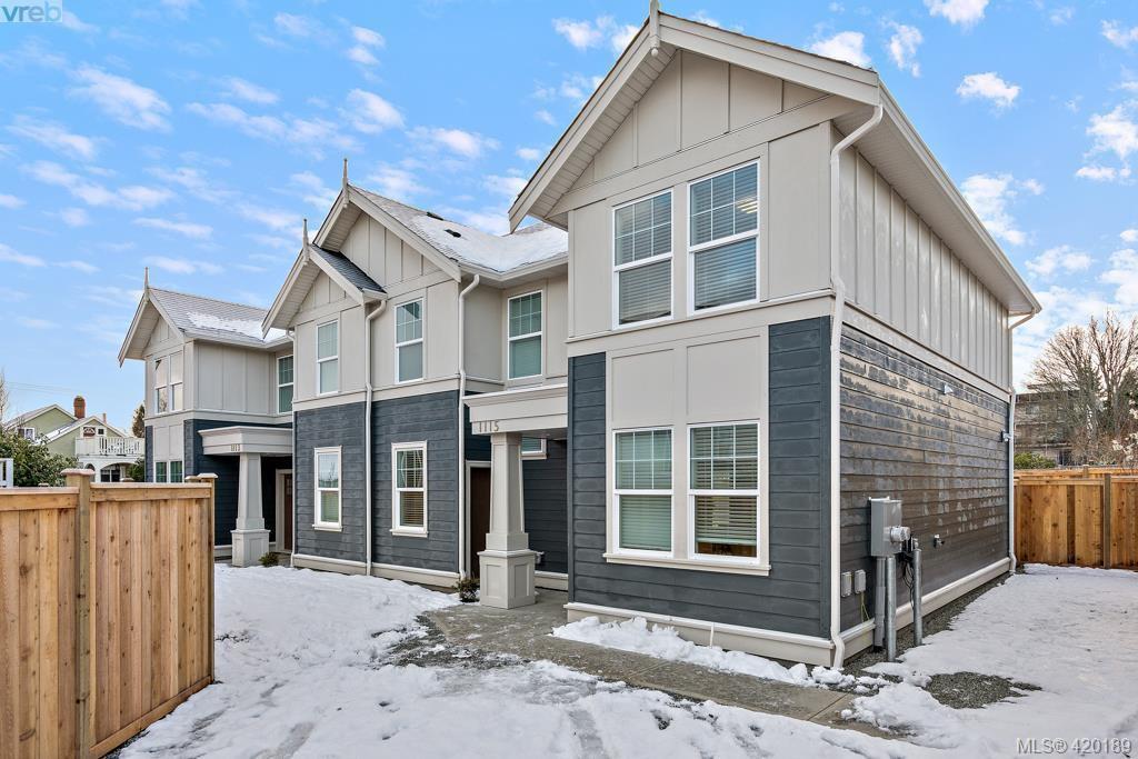 Main Photo: 1115 Lyall Street in VICTORIA: Es Saxe Point Half Duplex for sale (Esquimalt)  : MLS®# 420189