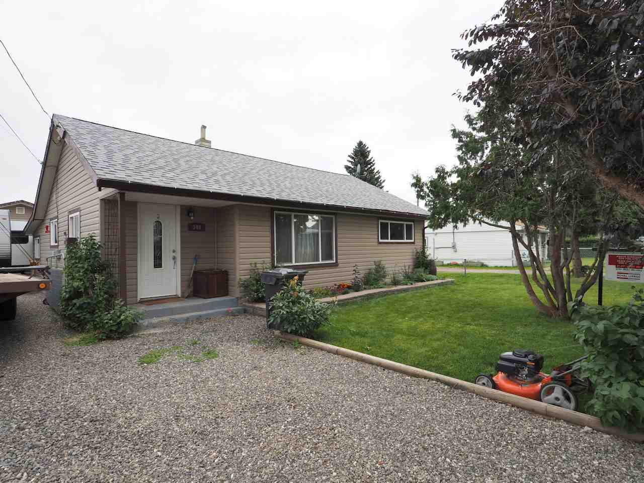 Main Photo: 340 1ST Street in 100 Mile House: 100 Mile House - Town House for sale (100 Mile House (Zone 10))  : MLS®# R2486064