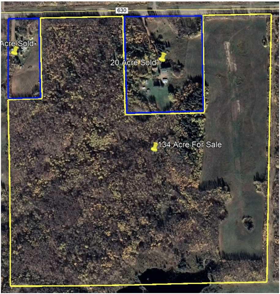 Main Photo: TWP 630 RR412: Rural Bonnyville M.D. Rural Land/Vacant Lot for sale : MLS®# E4213389